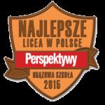 Brązowa Szkoła 2015 - Perspektywy - Najlepsze licea w Polsce
